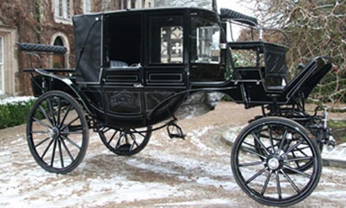 Glass Landau Carriage